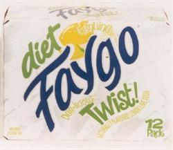 Diet Faygo Twist Lemon Lime 4 12-packs 12-oz. cans 6-month subscription