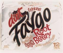 Diet Faygo Root Beer 12-pack 12-oz. cans