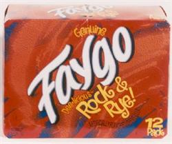 Faygo Rock & Rye 12-pack 12-oz. cans